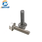 DIN6921 Stainless Steel SS304 SS316 316L Hex Flange Head Flange Bolt