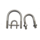 Stainless Steel SS304 SS316 316L U Bolt