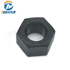 Carbon Steel Black Gr10.9 Hex Nuts (DIN934)