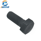 Carbon Steel Black Gr8.8 Hexagon Head Hex Bolt