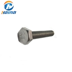 High Qutity Stainless Steel SS304 SS316 316L Hex Head Bolt
