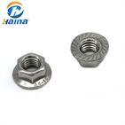 DIN6923 Stainless Steel A4-80 Hex Flange Nut