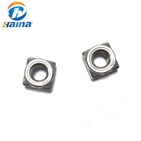 Stainless Steel SS304 SS316 316L Square Weld Nut (DIN928)
